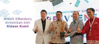 BINA NUSANTARA Hadirkan Perkuliahan Berkelas Dunia di Bandung
