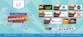 BINUSIAN Card Flazz  sudah dapat digunakan untuk membayar tol di seluruh ruas Jalan Tol Jabodetabeka
