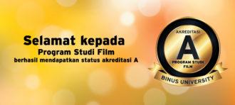 Akreditasi A – Prodi Film