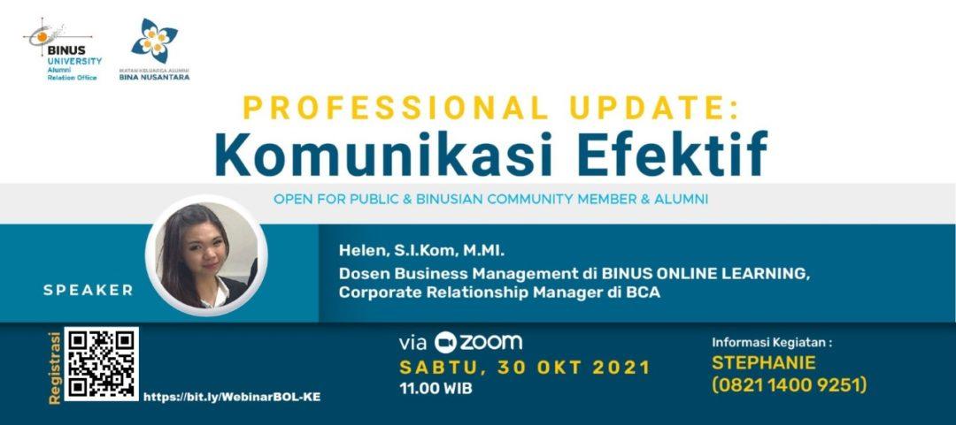 Professional Update Komunikasi Efektif