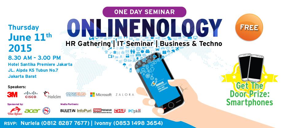 Onlinenology : Mempersiapkan BINUSIAN yang berkualitas