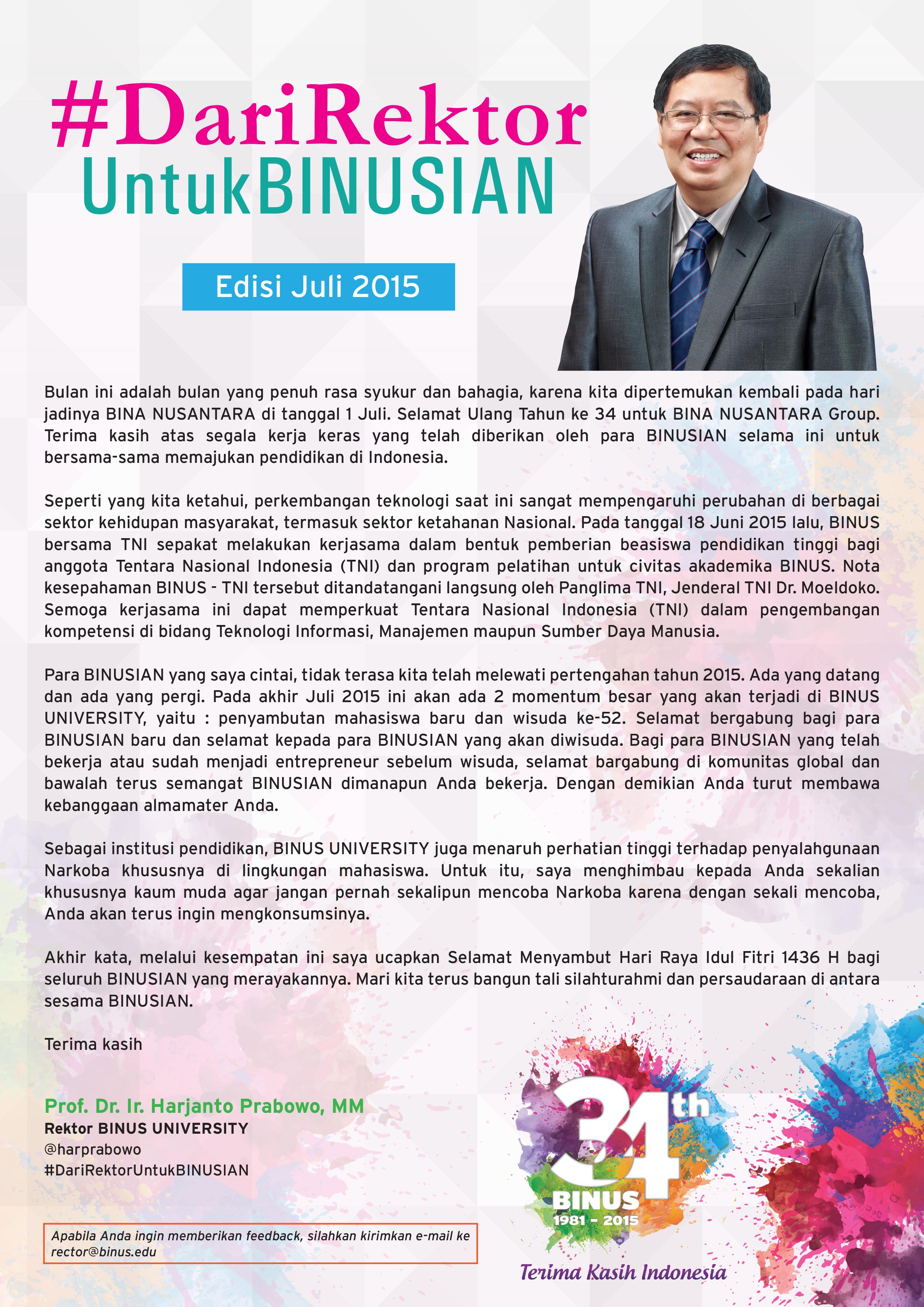 greeting rector juni2015 rev1