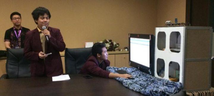 Tiga Mahasiswa Binus Rancang Sistem Pengawasan Gedung Canggih