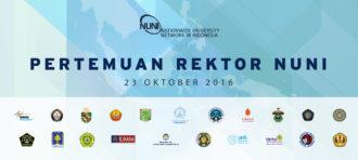 NUNI Rectors Meeting, October 23rd, 2016