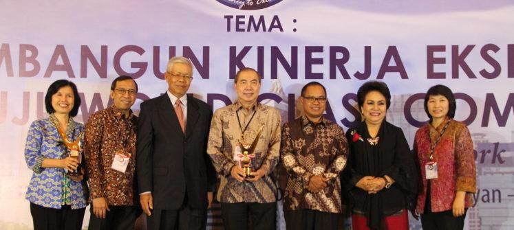 """BINA NUSANTARA RAIH 2 PENGANUGERAHAN PADA """"INDONESIA QUALITY AWARD 2016"""""""