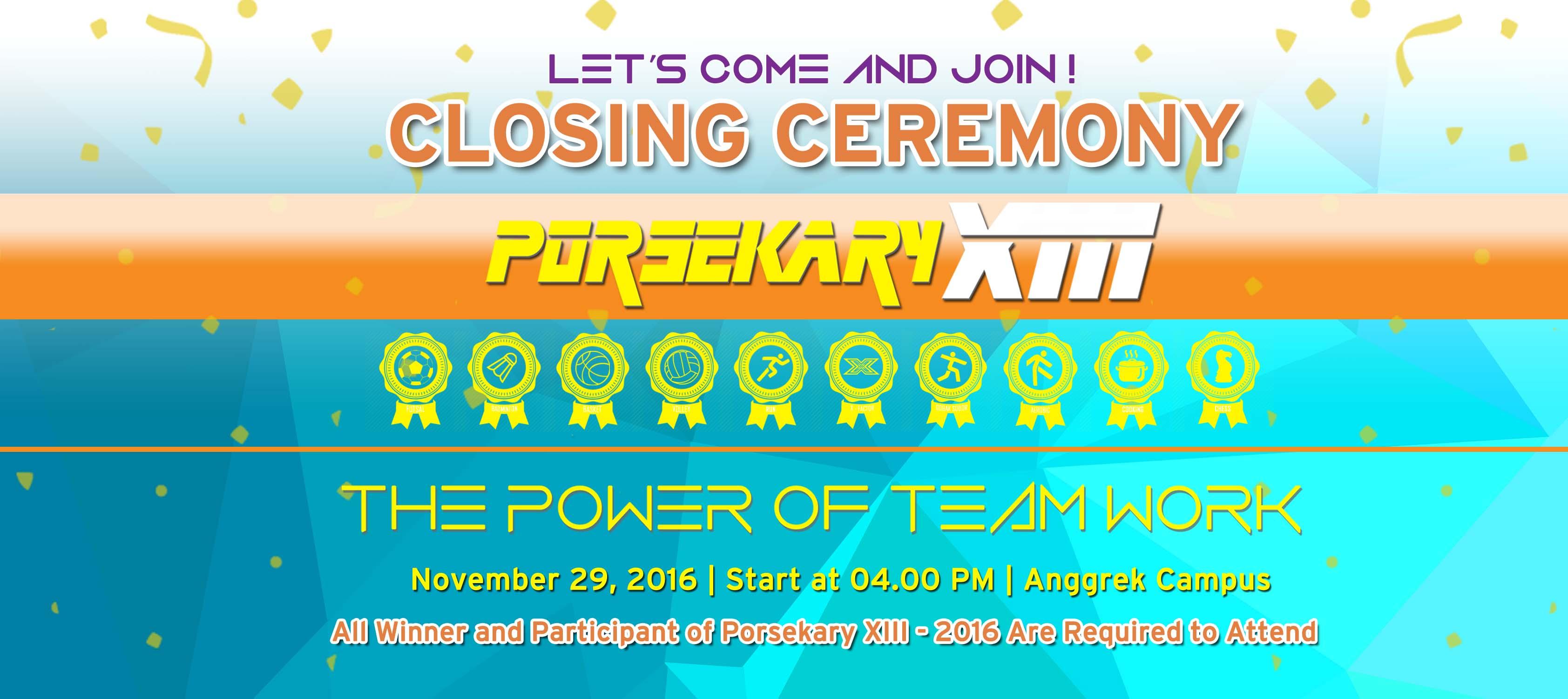 closing ceremony rev