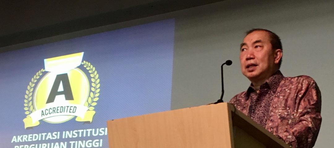 Speech of Ir. Bernard Gunawan at Nobel Laureate, BINUS University