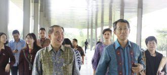 Kunjungan Ketua Yayasan BINA NUSANTARA Ke BINUS @ Bandung