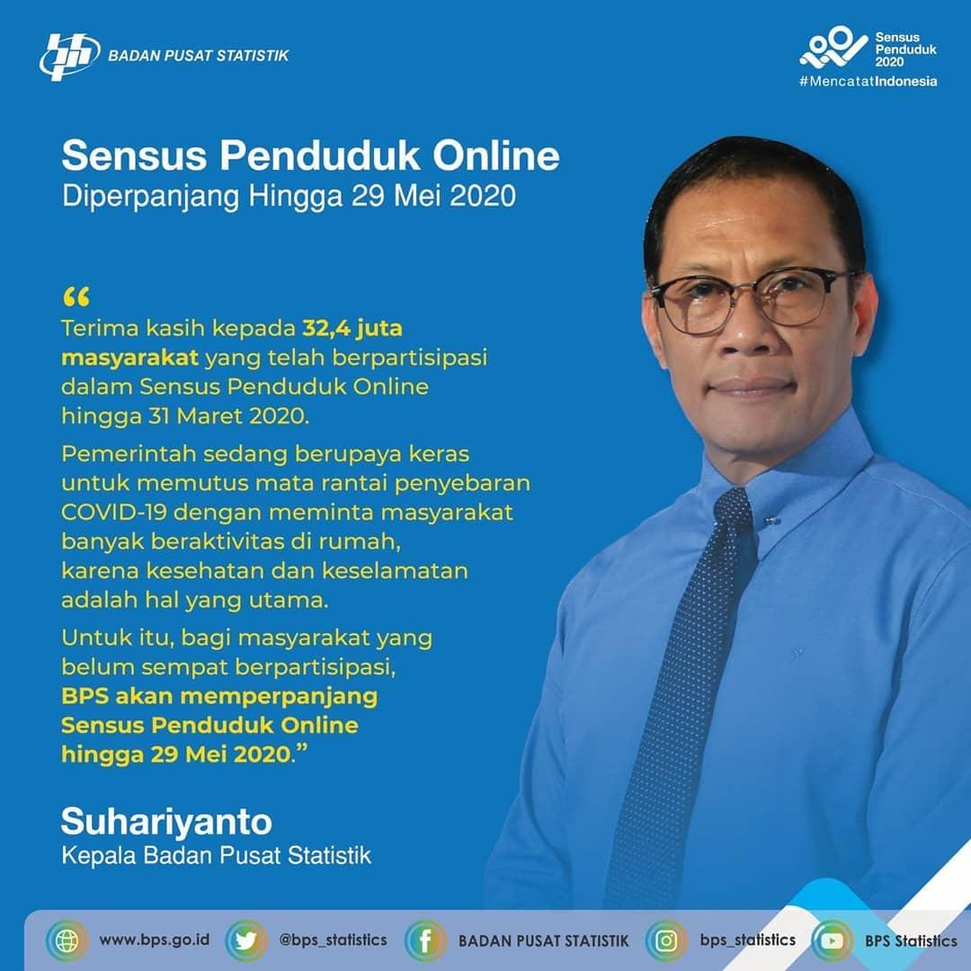 Sensus Online Bersama BPS DKI Jakarta (Diperpanjang)